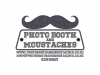 photobooth and moustaches